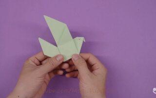 اوریگامی آسان و جذاب -پرنده