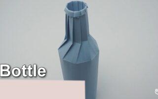 اوریگامی – بطری