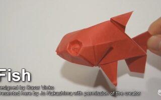 اوریگامی – ماهی
